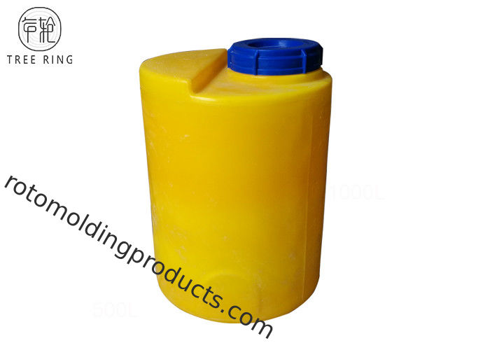Mc 50l Round Pe Chemical Dosing Tank , Poly Chemical Tanks With Integral Dosing Pump