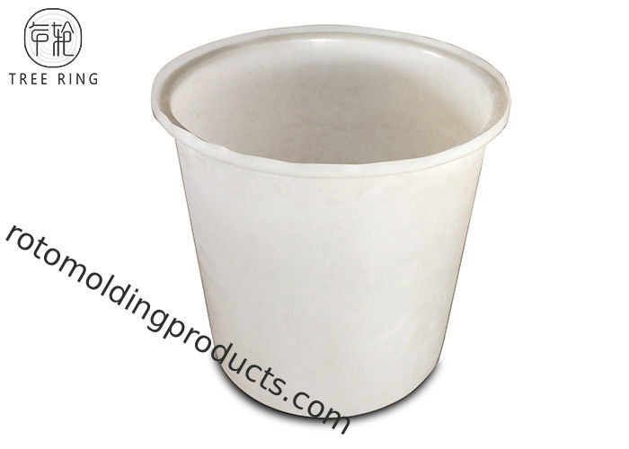 Rainwater Collecting Plastic Cattle Drinking Troughs , M200L Round Plastic Buckets