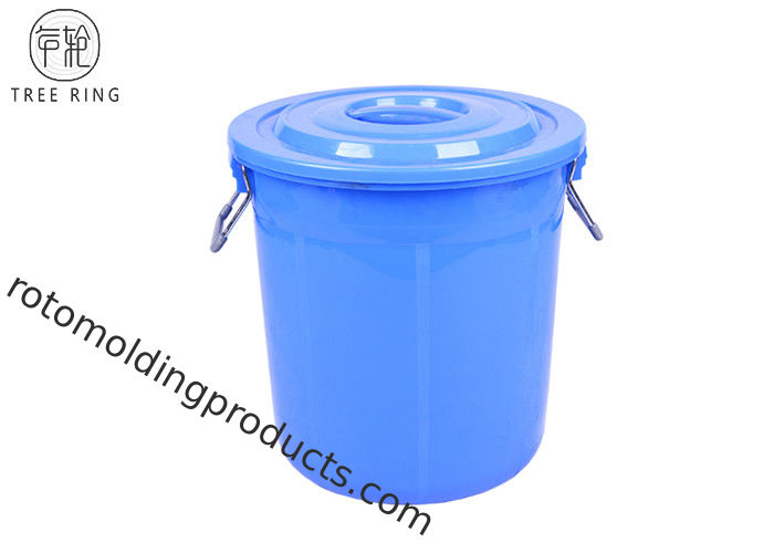 Stackable Round  Small Garbage Pail With Lid  B50L Heavy Duty Food Grade