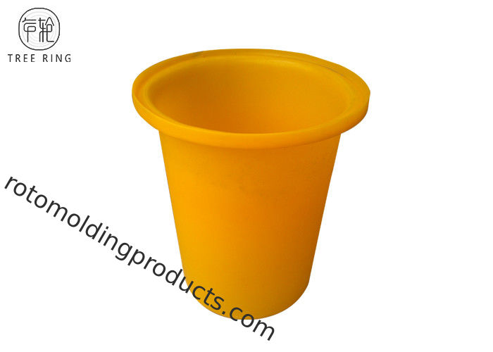 Lldpe Colored Rotomolding Plastic Round Bins Chip / Potato Food Grade With Bung 70L