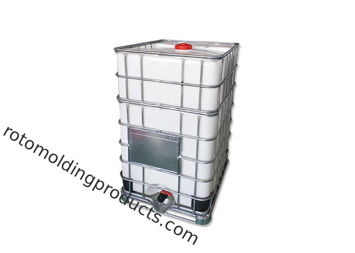 Roto Mold Stacking 1500L IBC Tote Tanks For Chemical Storage Transport