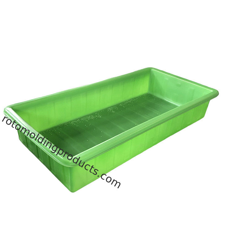 Green Color Aquaponic Grow Bed With Standing For Greenhousr Aquaponic Systems